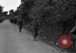 Image of U.S.4th Armored Division in Operation Cobra in World War II Periers France, 1944, second 8 stock footage video 65675072546