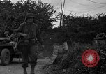 Image of U.S.4th Armored Division in Operation Cobra in World War II Periers France, 1944, second 16 stock footage video 65675072546