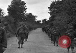 Image of U.S.4th Armored Division in Operation Cobra in World War II Periers France, 1944, second 24 stock footage video 65675072546
