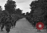 Image of U.S.4th Armored Division in Operation Cobra in World War II Periers France, 1944, second 26 stock footage video 65675072546