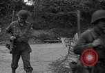 Image of U.S.4th Armored Division in Operation Cobra in World War II Periers France, 1944, second 29 stock footage video 65675072546