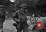 Image of U.S.4th Armored Division in Operation Cobra in World War II Periers France, 1944, second 30 stock footage video 65675072546