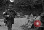 Image of U.S.4th Armored Division in Operation Cobra in World War II Periers France, 1944, second 31 stock footage video 65675072546