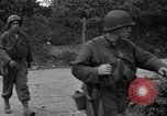 Image of U.S.4th Armored Division in Operation Cobra in World War II Periers France, 1944, second 32 stock footage video 65675072546