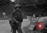 Image of U.S.4th Armored Division in Operation Cobra in World War II Periers France, 1944, second 33 stock footage video 65675072546