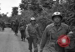 Image of U.S.4th Armored Division in Operation Cobra in World War II Periers France, 1944, second 34 stock footage video 65675072546