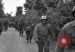 Image of U.S.4th Armored Division in Operation Cobra in World War II Periers France, 1944, second 35 stock footage video 65675072546