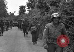 Image of U.S.4th Armored Division in Operation Cobra in World War II Periers France, 1944, second 36 stock footage video 65675072546