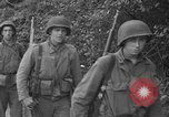 Image of U.S.4th Armored Division in Operation Cobra in World War II Periers France, 1944, second 40 stock footage video 65675072546