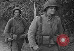 Image of U.S.4th Armored Division in Operation Cobra in World War II Periers France, 1944, second 41 stock footage video 65675072546