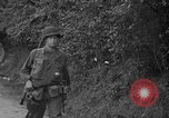 Image of U.S.4th Armored Division in Operation Cobra in World War II Periers France, 1944, second 44 stock footage video 65675072546