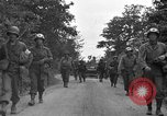 Image of U.S.4th Armored Division in Operation Cobra in World War II Periers France, 1944, second 48 stock footage video 65675072546