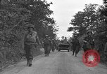 Image of U.S.4th Armored Division in Operation Cobra in World War II Periers France, 1944, second 53 stock footage video 65675072546