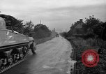 Image of U.S.4th Armored Division in Operation Cobra in World War II Periers France, 1944, second 59 stock footage video 65675072546