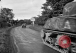 Image of U.S.4th Armored Division in Operation Cobra in World War II Periers France, 1944, second 61 stock footage video 65675072546