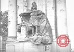 Image of damaged statue of Friedrich I Berlin Germany, 1953, second 19 stock footage video 65675072565
