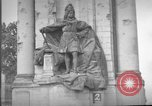 Image of damaged statue of Friedrich I Berlin Germany, 1953, second 21 stock footage video 65675072565