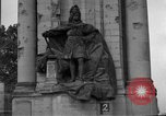 Image of damaged statue of Friedrich I Berlin Germany, 1953, second 27 stock footage video 65675072565