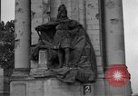 Image of damaged statue of Friedrich I Berlin Germany, 1953, second 29 stock footage video 65675072565