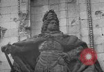 Image of damaged statue of Friedrich I Berlin Germany, 1953, second 36 stock footage video 65675072565