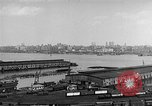 Image of New York City skyline from New Jersey New York City USA, 1954, second 17 stock footage video 65675072571