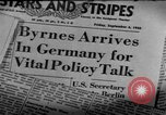Image of Joint Allied Control Conference Germany, 1948, second 31 stock footage video 65675072577