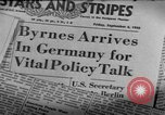 Image of Joint Allied Control Conference Germany, 1948, second 34 stock footage video 65675072577