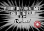 Image of electrical inspection United States USA, 1943, second 3 stock footage video 65675072636