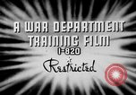 Image of electrical inspection United States USA, 1943, second 4 stock footage video 65675072636