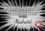 Image of electrical inspection United States USA, 1943, second 5 stock footage video 65675072636