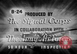 Image of electrical inspection United States USA, 1943, second 14 stock footage video 65675072636