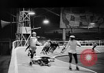 Image of roller derby Los Angeles California USA, 1938, second 30 stock footage video 65675072655