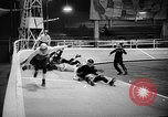 Image of roller derby Los Angeles California USA, 1938, second 43 stock footage video 65675072655