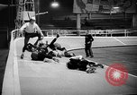 Image of roller derby Los Angeles California USA, 1938, second 44 stock footage video 65675072655