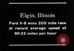 Image of Classic National Stock Car Road Race Elgin Illinois USA, 1933, second 25 stock footage video 65675072675
