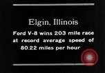 Image of Classic National Stock Car Road Race Elgin Illinois USA, 1933, second 28 stock footage video 65675072675