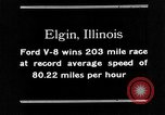 Image of Classic National Stock Car Road Race Elgin Illinois USA, 1933, second 31 stock footage video 65675072675