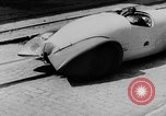 Image of The largest rocket car at the Heylandt factory in Berlin-Britz Germany Germany, 1930, second 46 stock footage video 65675072681