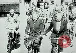 Image of Belgian civilians during Nazi occupation Brussels Belgium., 1940, second 3 stock footage video 65675072691