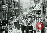 Image of Belgian civilians during Nazi occupation Brussels Belgium., 1940, second 11 stock footage video 65675072691