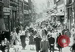 Image of Belgian civilians during Nazi occupation Brussels Belgium., 1940, second 12 stock footage video 65675072691