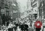 Image of Belgian civilians during Nazi occupation Brussels Belgium., 1940, second 15 stock footage video 65675072691