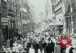 Image of Belgian civilians during Nazi occupation Brussels Belgium., 1940, second 16 stock footage video 65675072691