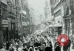 Image of Belgian civilians during Nazi occupation Brussels Belgium., 1940, second 18 stock footage video 65675072691