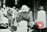 Image of Belgian civilians during Nazi occupation Brussels Belgium., 1940, second 19 stock footage video 65675072691