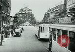 Image of Belgian civilians during Nazi occupation Brussels Belgium., 1940, second 30 stock footage video 65675072691