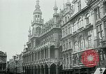 Image of Belgian civilians during Nazi occupation Brussels Belgium., 1940, second 43 stock footage video 65675072691