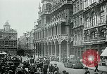 Image of Belgian civilians during Nazi occupation Brussels Belgium., 1940, second 46 stock footage video 65675072691