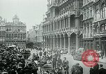 Image of Belgian civilians during Nazi occupation Brussels Belgium., 1940, second 47 stock footage video 65675072691