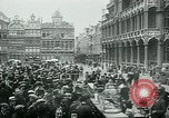 Image of Belgian civilians during Nazi occupation Brussels Belgium., 1940, second 49 stock footage video 65675072691